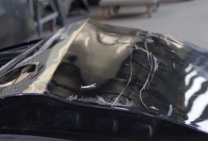 飞斯特铝车门焊接修复视频