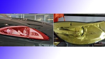 喷镀镀膜改色,不同于车灯改色膜的全新技术方式