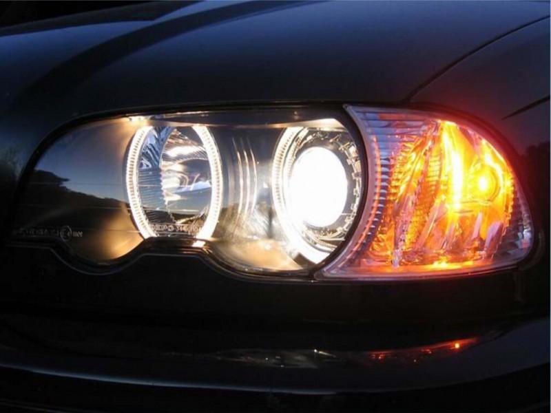 汽车车灯改装升级效果