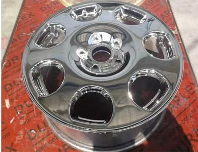 汽车轮毂镜面喷涂效果