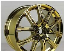 新型环保镜面气溶喷涂技术,实现汽车轮毂上色电镀效果