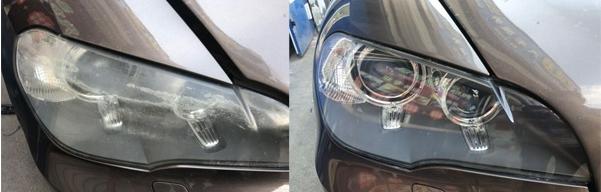 汽车大灯发乌问题处理